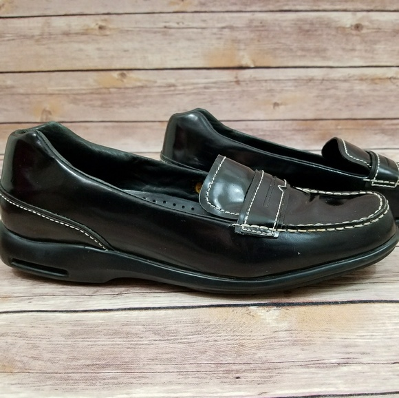 2da2278062b Cole Haan Other - Cole Haan 10.5 Shiny Black Penny Loafers Shoes